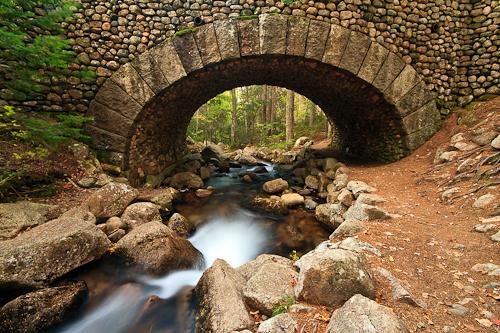 Cobblestone Bridge, Acadia National Park, Maine